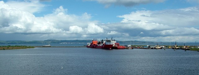 Port of Leith harbour