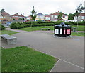 ST3487 : Waste and recycling bins, Alway, Newport by Jaggery