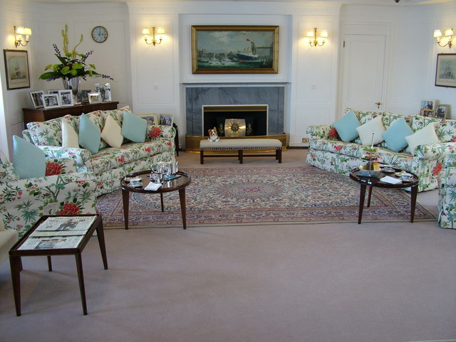 Royal Yacht Britannia State Drawing Room