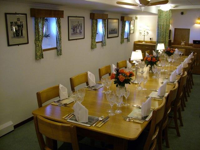 Royal Yacht Britannia Wardroom Dining Table