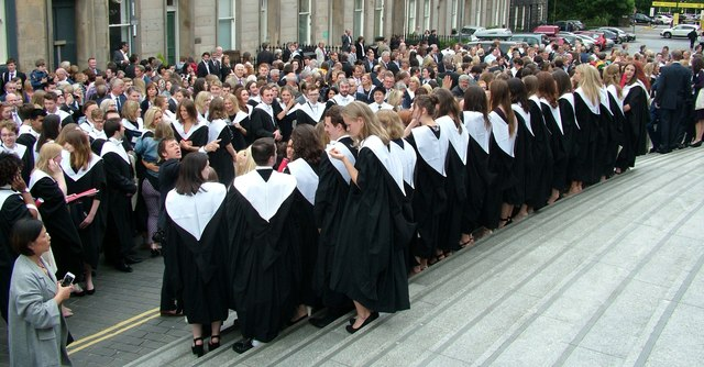 Edinburgh University Graduation Day