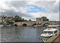 TL3171 : St Ives: bridge and bridge chapel by John Sutton