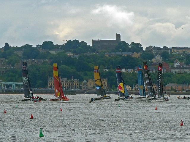 Extreme sailing 2016 (5), Cardiff Bay