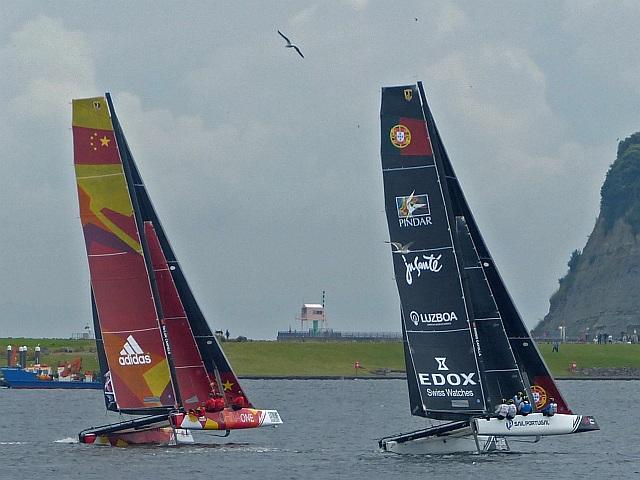 Extreme sailing 2016 (6), Cardiff Bay