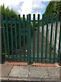 SJ8442 : Westbury Park: path between shops and Churston Close by Jonathan Hutchins