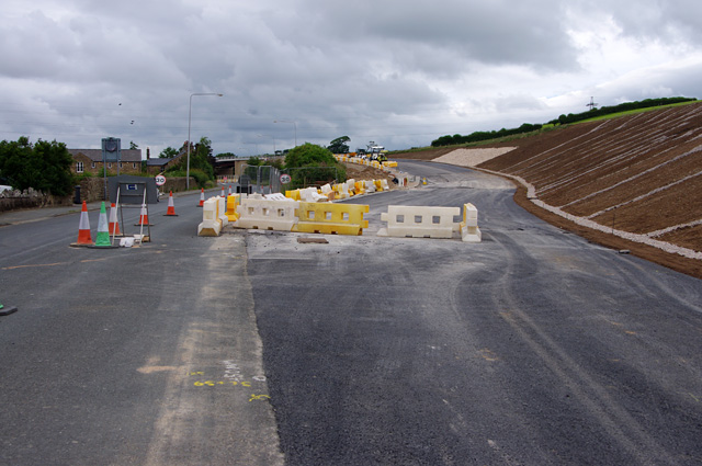 A6 Slyne Road realignment