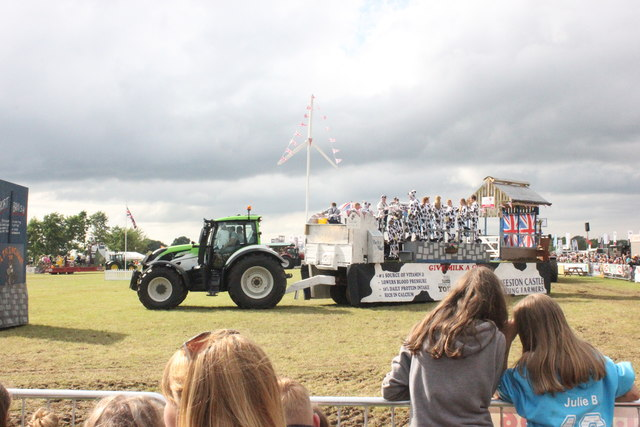 Young Farmers Float Competition at the Royal Cheshire Show