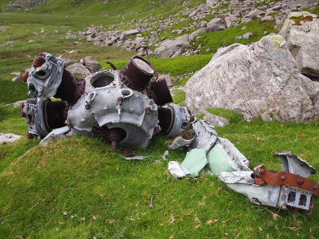 Bristol Mercury Radial Engine, Cwm Eigiau