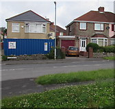 ST3487 : Fenced-off detached house, Ladyhill Road, Alway, Newport by Jaggery