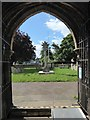 TF1505 : St Benedict, Glinton: churchyard (c) by Basher Eyre