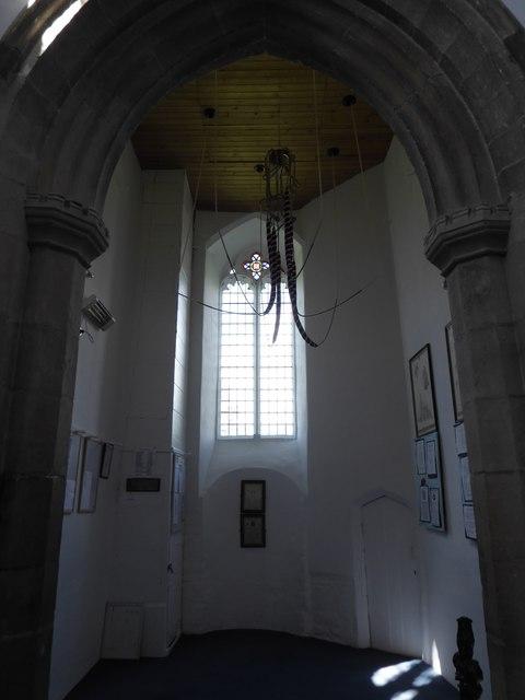Inside St Benedict, Glinton (b)
