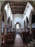 TF1505 : Inside St Benedict, Glinton (d) by Basher Eyre