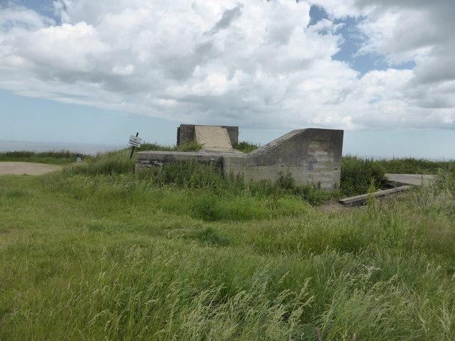 Gun emplacement, Mundesley