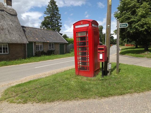 Telephone Box & The Street Postbox