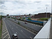 SJ8990 : View across the M60 by Gerald England