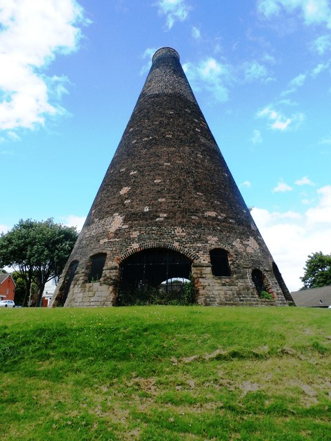 Glass Cone in Catcliffe