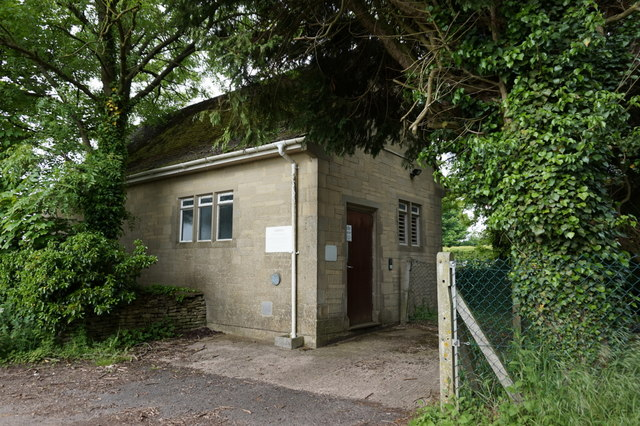 Telephone Exchange on Whitewater Road, Leighterton
