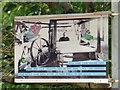 SJ8990 : Lamppost Art: Silk Hand Loom Weaver 1890 by Gerald England