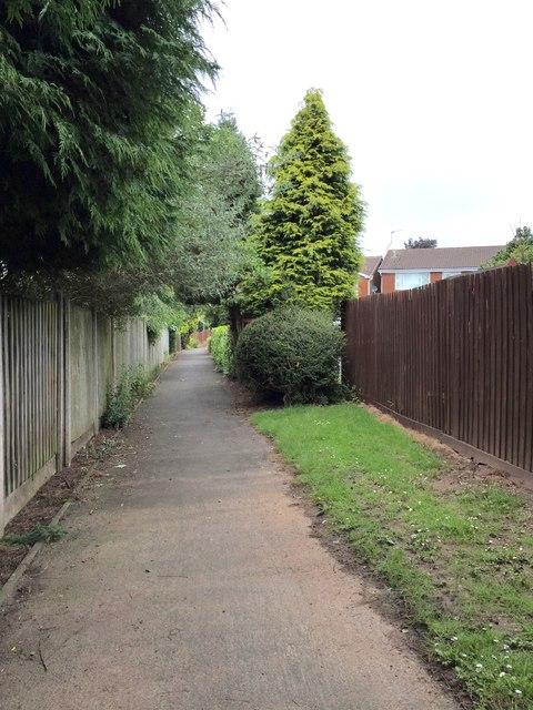 Westbury Park: footpath