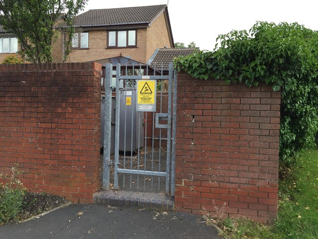 Westbury Park: electricity substation