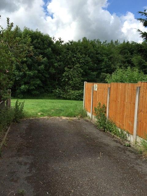 Westbury Park: path off Morston Drive