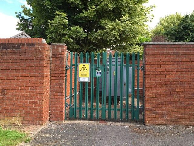 Westbury Park: electricity substation