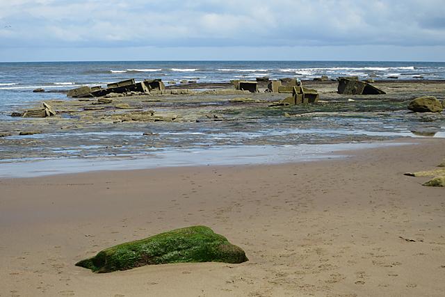 Wreck of the MV 'Creteblock'