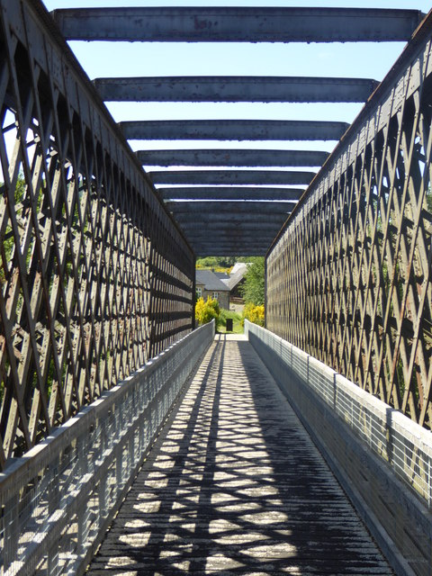 Detail of old railway bridge, Ballindalloch
