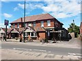 SZ0694 : Wallisdown: the King's Arms and footpath N02 by Chris Downer