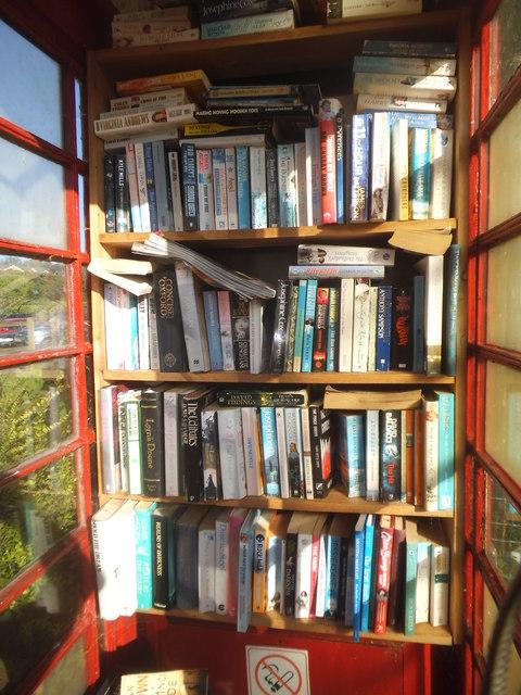 Book exchange in Lower Farringdon