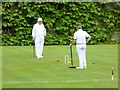 NZ0878 : Anyone for croquet? by Oliver Dixon