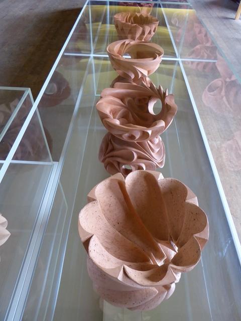 Sculptures in Belsay Hall