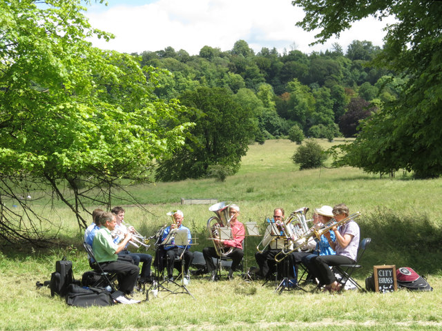 A Brass Band in Tring Park
