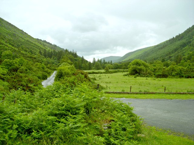 Glenmalure looking south-east