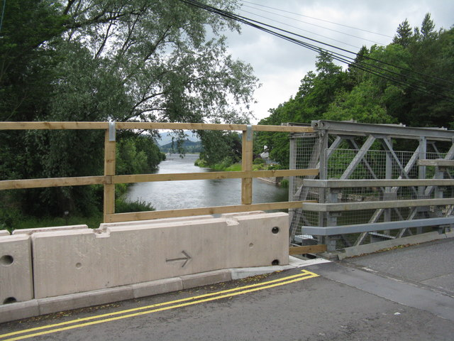Bailey Bridge at Pooley Bridge
