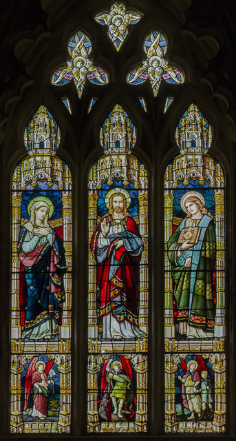 East window, St Michael and All Angels' church, Booton