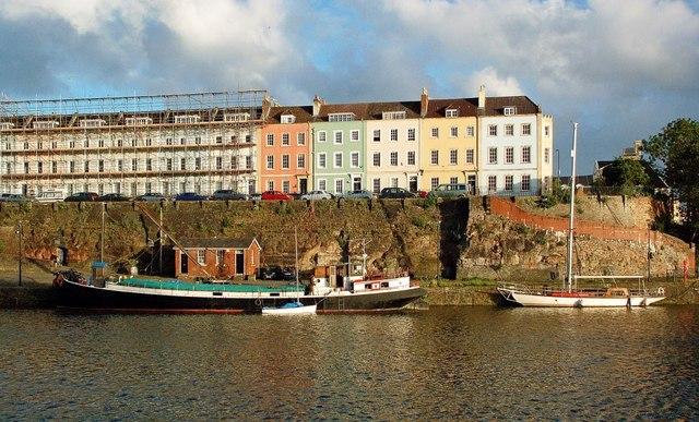 Boats in Bristol