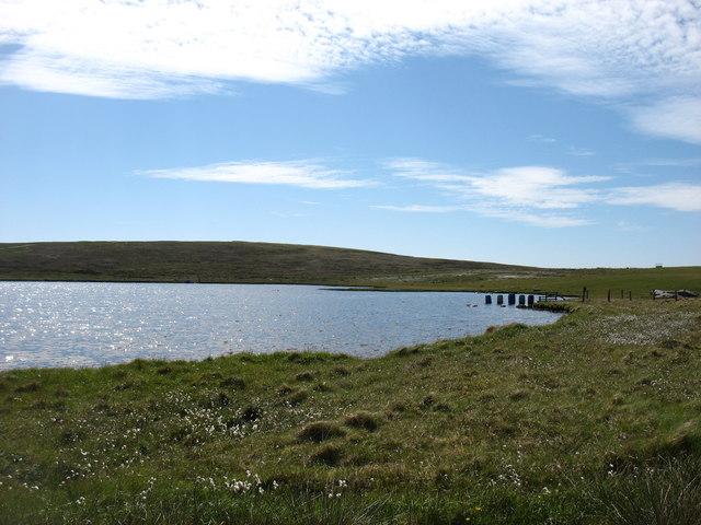 East Loch of Skaw, Whalsay