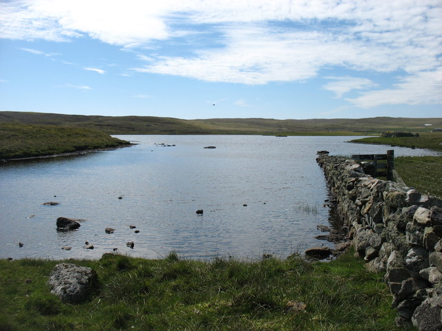 Loch Vats-houll, Whalsay