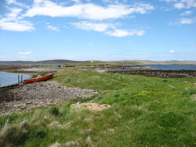 Houb and Suther Ness, Whalsay