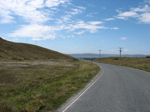 Approaching Symbister, Whalsay