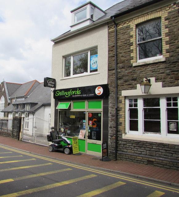 Shillingfords, St David's Street, Neath