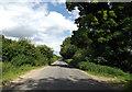 TL9383 : Kilverstone Road, Brettenham by Adrian Cable