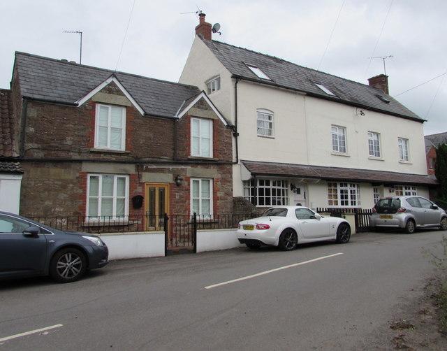 Row of three houses, Goodrich