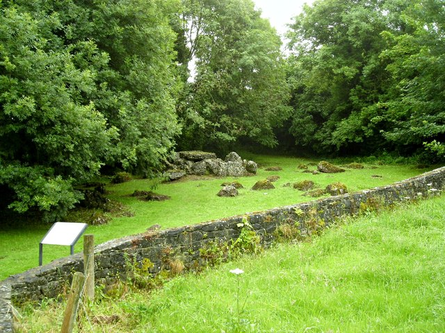 Megalithic wedge tomb