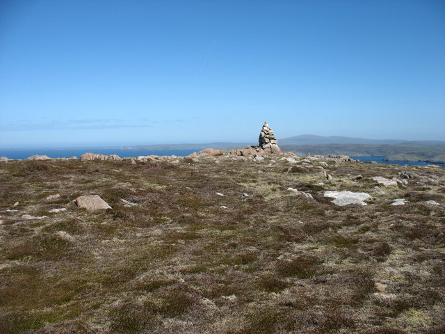 The summit of Mid Ward