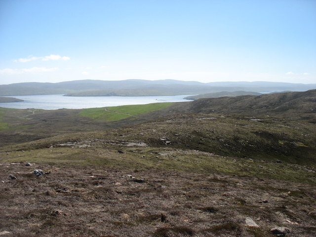South-east slopes of South Ward, Muckle Roe