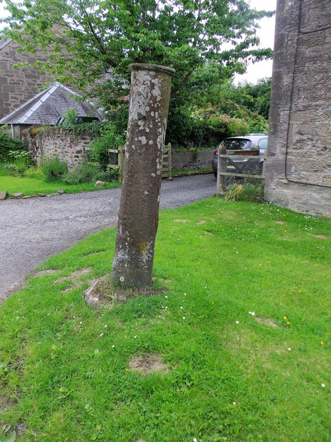 Stone pillar at Port Allen