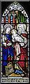 TQ1880 : St Matthew, Ealing Common - Stained glass window by John Salmon