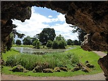 SO8744 : View from within the Grotto by Philip Halling